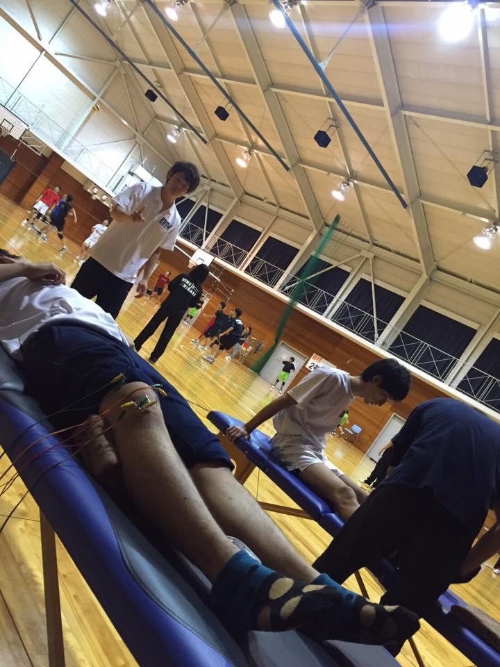関西福祉大学バレー部トレーナー