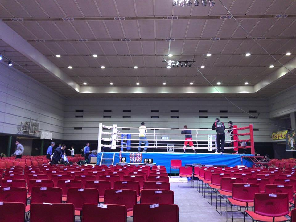 Crash Boxing エディオン・アリーナ
