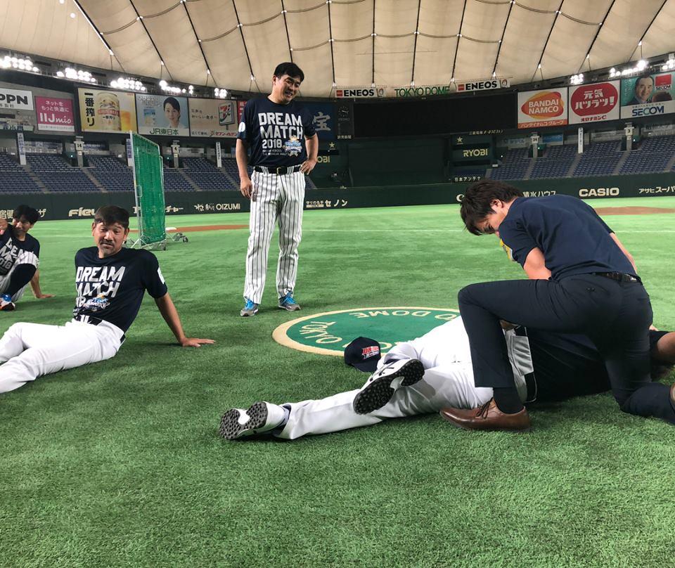 SUNTORY DREAM MATCH 2018 in TOKYO DOME