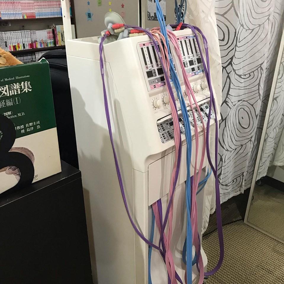 電気治療器具 交代