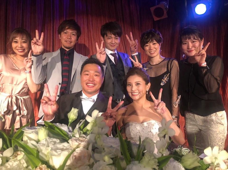 関本賢太郎さんの結婚パーティーと井川選手のイベントに