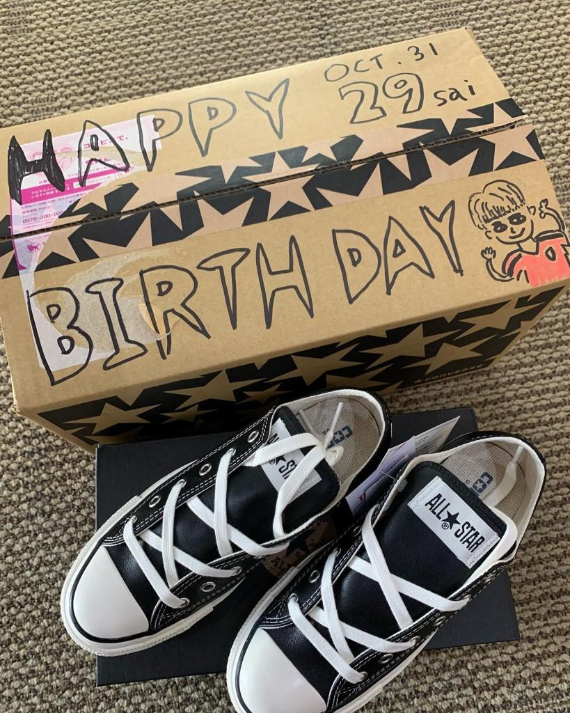 受付辰巳の誕生日プレゼント