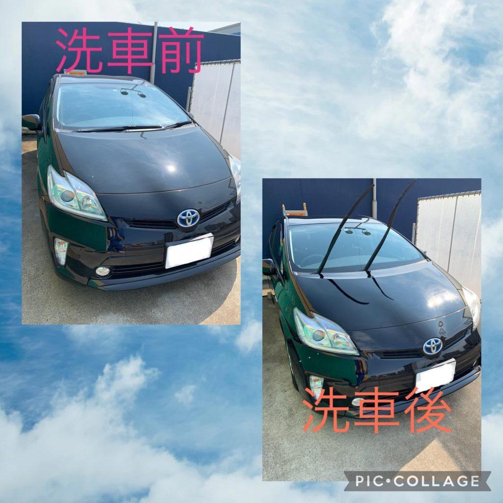 社用車の洗車✨